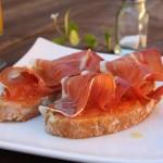 Tosta de Jamón con Tomate2